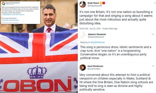 Britons blast 'facile' and 'bloody awful' 'One Britain' song