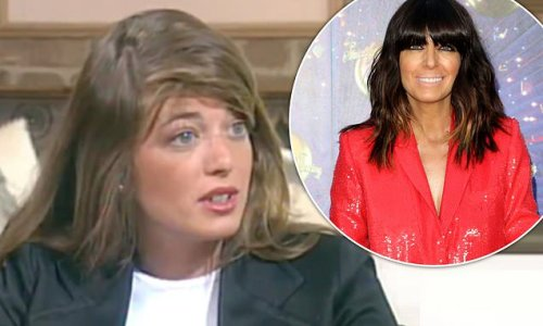 Claudia Winkleman looks almost unrecognisable in unearthed BBC clip