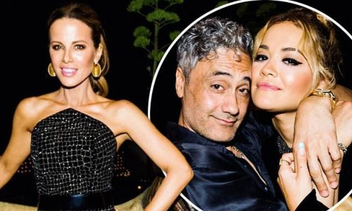 Kate Beckinsale dazzles at star star-studded 48th birthday party
