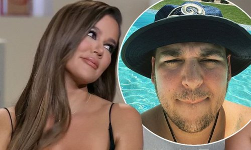 Khloe Kardashian gives rare update on reclusive brother Rob