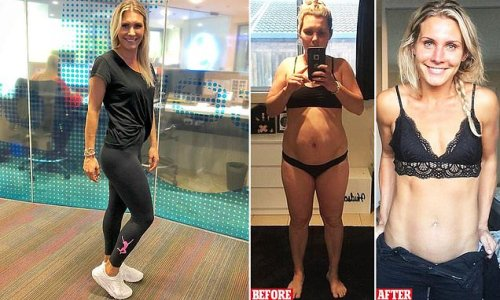 Mum who lost 30kg reveals how she maintains her toned physique