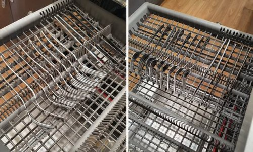 Cleaner discovers a 'mind blowing' feature in dishwasher for cutlery