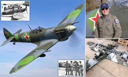 Spitfire loaned to Soviet Union in WWII has £2million makeover