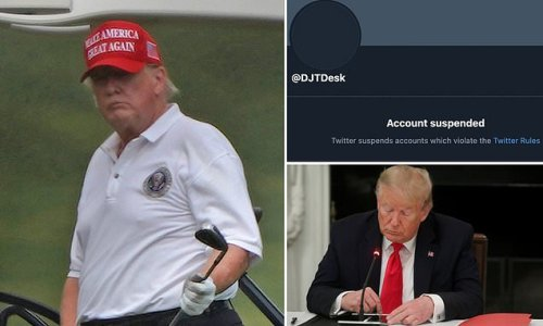 Twitter account 'made by Trump's team' is SUSPENDED after just one day
