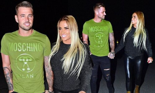 Katie Price looks happy and healthy on date night with fiancé Carl
