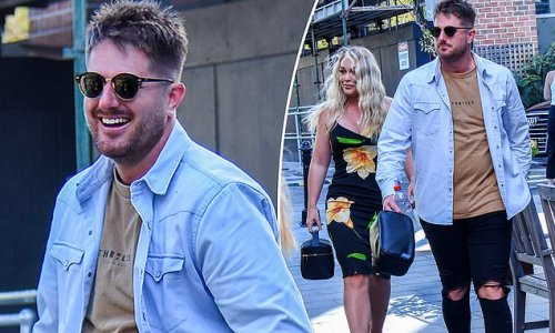 Bryce Ruthven and Melissa Rawson look smug as they arrive at reunion