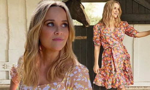 Reese Witherspoon, 45, looks half her age in spring dresses