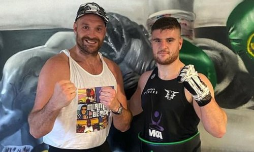 Tyson Fury is the 'whole package', says sparring partner Johnny Fisher