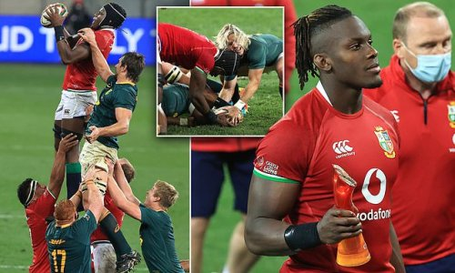 Maro Itoje delivered when it mattered most again for the Lions