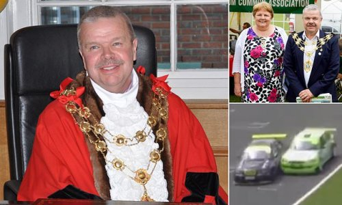 Pictured: Former mayor in his 60s killed at Brands Hatch circuit