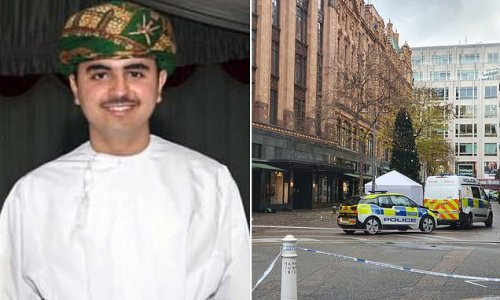 Man accused of murdering student near Harrods says it was accident