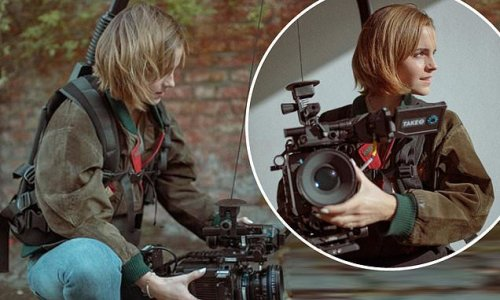 Emma Watson hints at a job behind the lens after learning camerawork