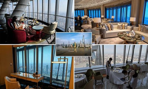 World's highest hotel in a 2,000ft tower opens in Shanghai