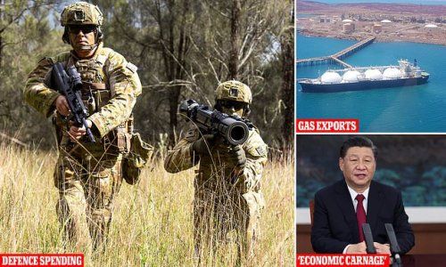 Beijing threatens Australia with 'economic carnage' and gas ban