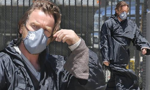 Obi-Wan Kenobi FIRST LOOK: Ewan McGregor keeps costume under wraps