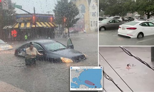 Five million under flood warnings as Hurricane Nicholas hits US south