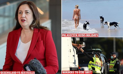 Palaszczuk ruins holidays AGAIN with QLD-NSW border to stay closed