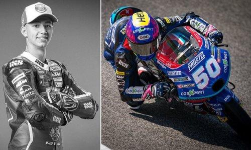 BREAKING NEWS: Moto3 star Jason Dupasquier, 19, dies in hospital