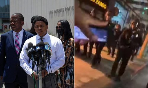 BLM protester sues LAPD and his cop UNCLE, who he encountered last May