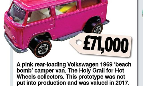 The toy cars that could cost you as much as a brand new Porsche...