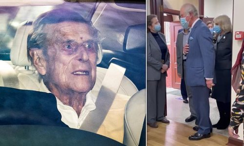 Prince Philip, 99, leaves hospital two weeks after heart surgery