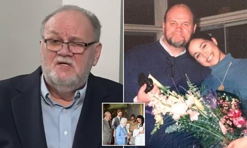 Thomas Markle claims Meghan has 'disowned both sides of her family'