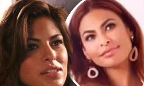 Eva Mendes, 47, thought face looked weird' at 26, had 'insecurities'