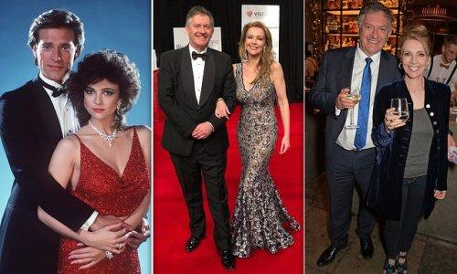 Emma Samms and GB News anchor Simon McCoy announce engagement