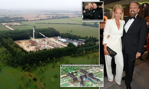 Rupert Murdoch's daughter's sprawling new home near the Cotswolds