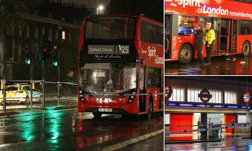 Horror on night bus in London as passenger is stabbed