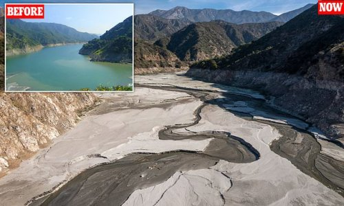 Dramatic pictures show California drought ahead of wildfire season