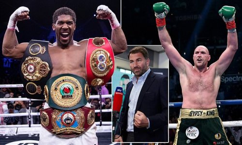 Hearn claims AJ will 'absolutely demolish' Tyson Fury