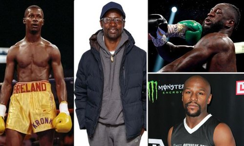 Mayweather posts message of support to Wilder's sacked ex coach