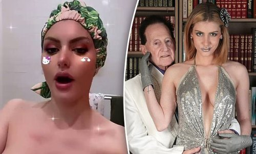Topless Gabi Grecko thanks supporters after her late husband's passing