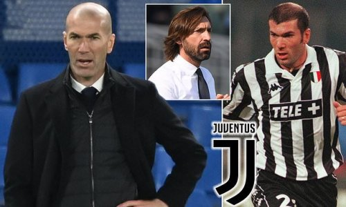 Zinedine Zidane 'could be set to return to Juventus as manager'