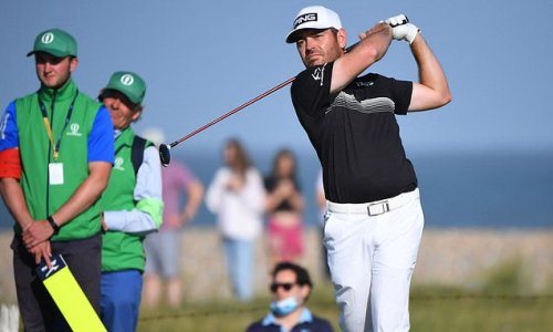 Louis Oosthuizen opens up two-stroke lead on day two of The Open