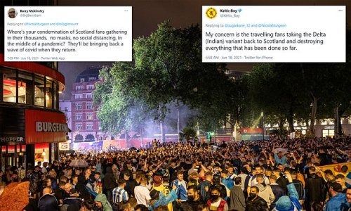 Scots react with fury as 20,000 Tartan Army fans party in the West End