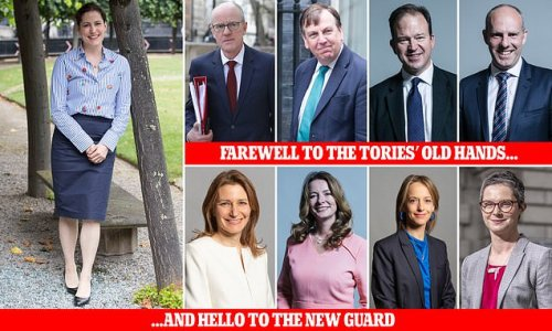 Out go the 'male, pale and stale' in Boris Johnson's reshuffle