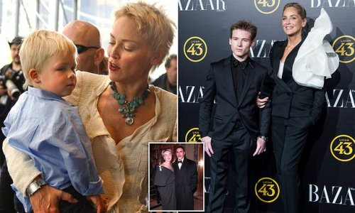 Sharon Stone opened up about her custody battle for son Roan