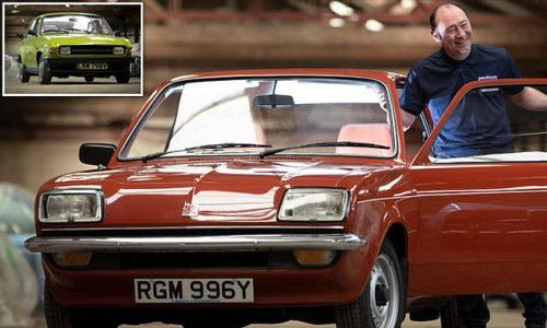 Businessman puts fleet of 130 classic British cars on display