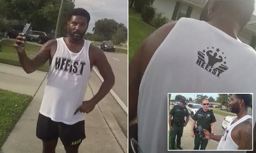 Jogger detained by Florida police is offered a job by sheriff