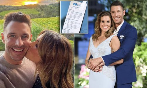 The Bachelorette star blasts issuing parking tickets in Covid lockdown
