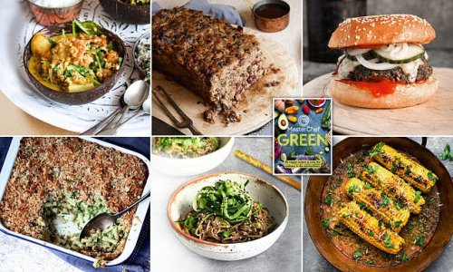Take meat-free meals to next level with recipes from MasterChef book