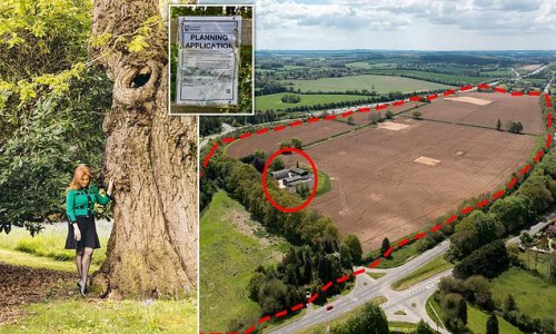 Sarah Ferguson wins battle to save oak trees in Hampshire countryside