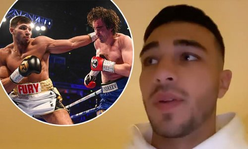 Tommy Fury reveals he's NOT flown to Las Vegas to attend a boxing camp