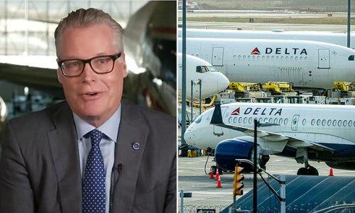 Delta CEO REFUSES to impose Biden's 'divisive' vaccine mandate