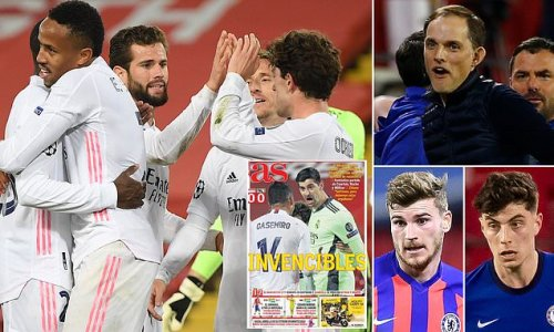 Chelsea are viewed as no match for Real Madrid by Spanish press