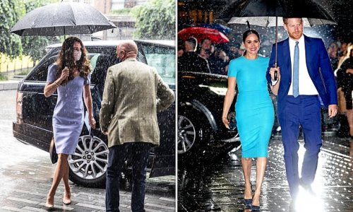 AMANDA PLATELL: Kate Middleton shows Meghan Markle how it's done