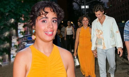 Camila and Shawn hold hands out on the town after she does Fallon