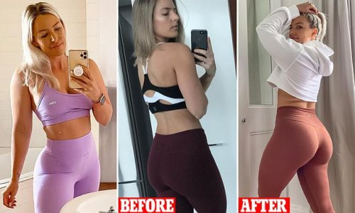 The EXACT diet and fitness approach trainer follows to change her body